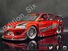 Jada Toys 1:18 Mitsubishi Lancer Evolution Evo VIII Toyo Neumáticos JDM Coche Deportivo