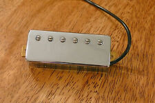 MINI HUMBUCKER PICKUP ALNICO 5 MAGNET 6 POLE PIECES 4 CONDUCTOR WIRE