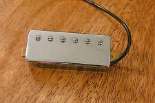 MINI HUMBUCKER PICKUP ALNICO 5 MAGNET 6 POLE PIECES 4 CONDUCTOR WIRE