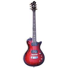 Hagstrom Ultra Swede Burgundy Burst E-Gitarre - NEU