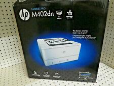 BRAND NEW HP LaserJet Pro M402dn Duplex Monochrome Laser Printer - Black/White