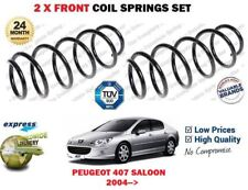 FOR PEUGEOT 407 SW SALOON MODELS 2004->NEW 2X FRONT LEFT RIGHT COIL SPRINGS SET