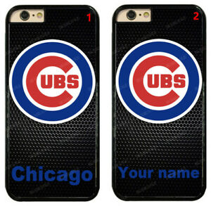 Custom Chicago Cubs Personalised Name Hard Phone Case For iPhone/ Samsung/ LG