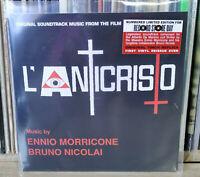 """7"""" ENNIO MORRICONE - BRUNO NICOLAI - L'ANTICRISTO - SOUNDTRACK RSD LIMITED"""