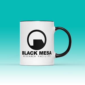 Black Mesa Research Facility Half Life Game Inspired Ceramic Cup Mug