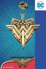 Wonder Woman espada escudo-exclusiva coleccionista Collectors pin metal-DC Cómic