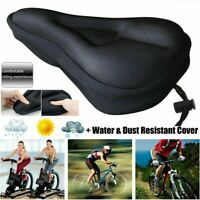 Road Bike Extra Comfort Soft Pad Comfy Cushion Saddle Seat Cover Bicycle Cycle