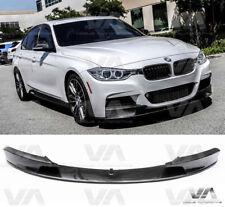 VA BMW Série 3 M F30 F31 Performance Carbon Fiber Front Lip Spoiler Splitter
