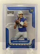 2020 Panini Chronicles Playoff Football Justin Herbert RC Chargers