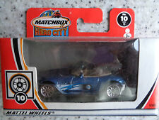 Número de Ciudad Héroe Matchbox #10 BMW Z8-Azul-envío rápido y gratis