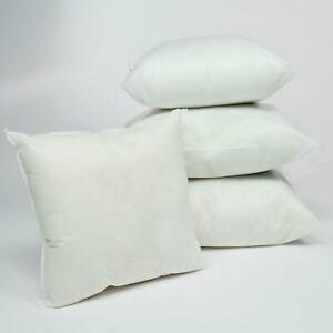 All Sizes Extra Deep Filled Hollowfibre Cushions Pads Inserts Fillers Scatters