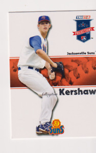 2008 TRISTAR PROJECTIONS #263 CLAYTON KERSHAW Jacksonville Suns PRE Rookie MINT