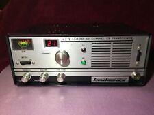 Vintage Cb - Gemtronics Gtx-5000 40 channels tube type w/mic