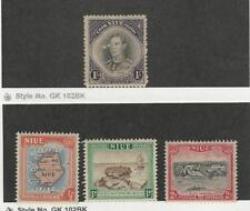 Niue, Postage Stamp, #73, 94-95 Mint Hinged, 96 Used, 1938-50 Map, Ship