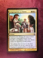 Congregation at Dawn   VO   -  MTG Magic (EX)