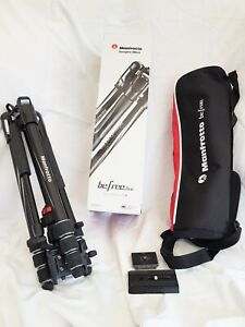 MANFROTTO MVKBFRT-LIVE BEFREE ALUMINIUM TRIPOD TWIST FOR CAMERA AND VIDEO