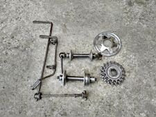 CAMPAGNOLO CAMBIO CORSA open C hubs rear derailleur freewheel old vintage