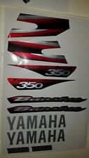 yamaha banshee full graphics decals kit 2003 . Thick And High Gloss