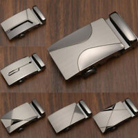 Classic Alloy Automatic Buckle Men's Leather Buckle Belt Buckle Belt Buckle