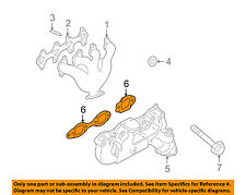 GM OEM Exhaust-Manifold Gasket 89017812