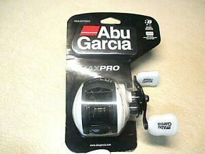 NEW - ABU GARCIA AMBASSADEUR MAX PRO REEL - 7:1:1 GEAR RATIO - 8 BALL BEARINGS