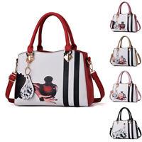 Women Handbags Shoulder Bags Tote Purse Faux Leather Messenger Bag Satchel