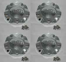 4 CAP DEAL NEW DUB ESINEM FLOATER 8220-15 CUSTOM WHEEL RIM CHROME CENTER CAPS