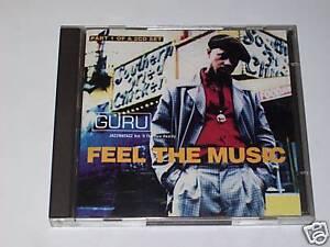 CD DOPPIO - GURU - FEEL THE MUSIC, JAZZMATAZZ  Vol II