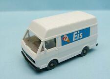 WIKING / GERMANY / VOLKSWAGEN LT TRANSPORTER TOIT HAUT EIS 1/87