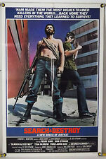 SEARCH AND & DESTROY FF ORIG 1SH MOVIE POSTER DON STROUD TISA FARROW (1981)