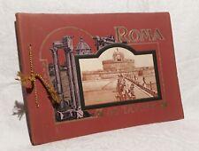 Ricordo Di ROMA  80 Tavole 80 Vedute fotogravure Cesare Cappello Milano (1900)