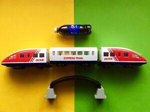 DICKIE Eisenbahn LGB Set RC Zug ICE Wagen 80 Lok OVP Schienen WESTERN Play 4000
