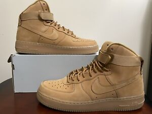 Nike Air Force 1 High '07 LV8 Wheat Flax Gum Beige 2015 (806403-200) Size 13