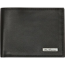 """Ben Sherman Luggage """"Hackney"""" Collection Leather RFID Men's Wallet NEW"""