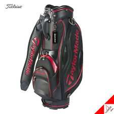 TaylorMade 2018 TM SY202 Men's Caddie Cart Bag-Authentic 9.5In 5Way 8.5lb /RED
