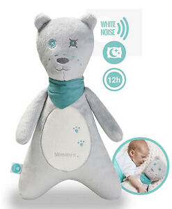 🌟 Smart Bear MyHummy Teddy Bear White Noise Soother Plush Toy with Cry Sensor🌟