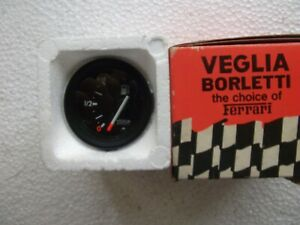 UNIVERSAL 12V GAS/FUEL GAUGE METER WITH LIGHT(ITALY)(NOS)