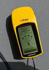Garmin eTrex H Navigationsgerät GPS-Empfänger gelb wasserdicht