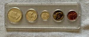 1953 P US Mint set in vintage clear Whitman holder