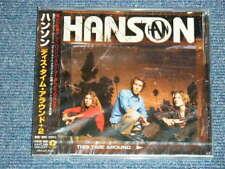 HANSON Japan 2000 Sealed CD+Obi THIS TIME AROUND
