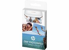 "HP Zink sticky-backed CARTA FOTOGRAFICA PER RUOTA DENTATA MINI STAMPANTE 2 Pack 2 ""x 3"""