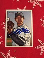 Chien-Ming Wang Autograph signed 2007 Bowman #13 Yankees