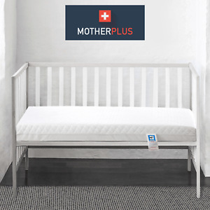 MotherPlus™ Waterproof Baby Toddler Cot Bed Mattress Quilted Breathable & Thick