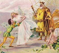 Antique Fairy Kingdom Wedding Bride Waldmeisters Brautfahrt Otto Roquette Card