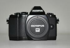 Olympus OM-D E-M10 16.1MP Digital SLR Camera - Black (Body Only) / 9813