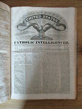 Catholic intelligencer Boston Massachusetts 51 numbers 1831-32