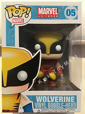 Funko Pop! Vinyl Marvel Universe WOLVERINE BROWN SUIT #05 Exclusive