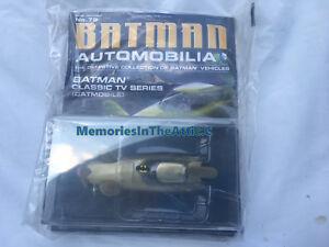 DC BATMAN CatWoman Car 79 Auto Magazine CLASSIC TV Show CATMOBILE 1:43 Scale Toy