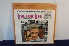 Live For Life, Soundtrack, United Artists Records UAS 5165, 1967, SEALED