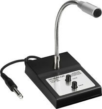 MONACOR ECM-200 ELA-Tischmikrofon Beschallungstechnik, Mikrofone und Kopfhörer,